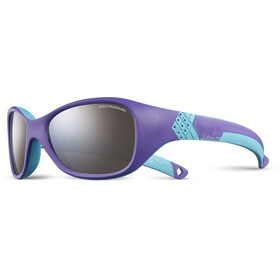 Julbo Kids 4-6Y Solan Spectron 4 Sunglasses Purple/Turquoise-Gray Flash Silver